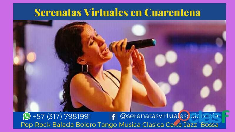 Serenatas virtuales en cuarentena 2020