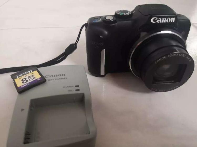 Cámara compacta canon sx170 is