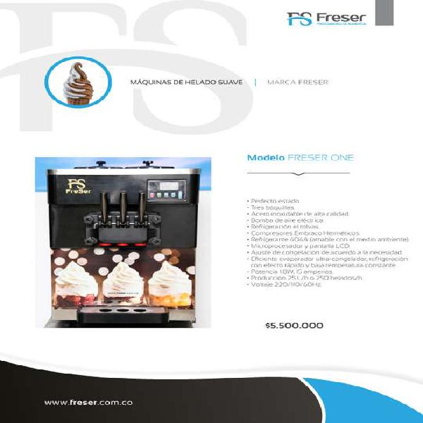Maquina de helado suave freser one