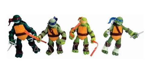 Muñecos de las tortugas ninja articuladas clasicas