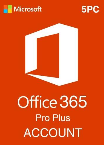 Office 365 2020 5 pc / mac / android / windows / permanente