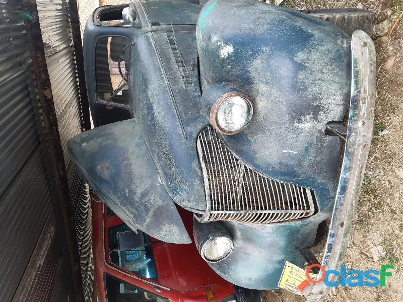 Vendo coupe chevrolet 1939 listo para restaurar