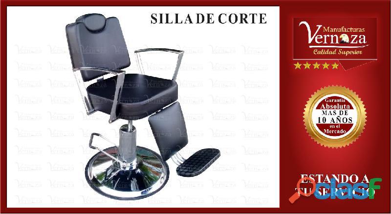 .10. silla de corte de pelo con acabados de alta calidad
