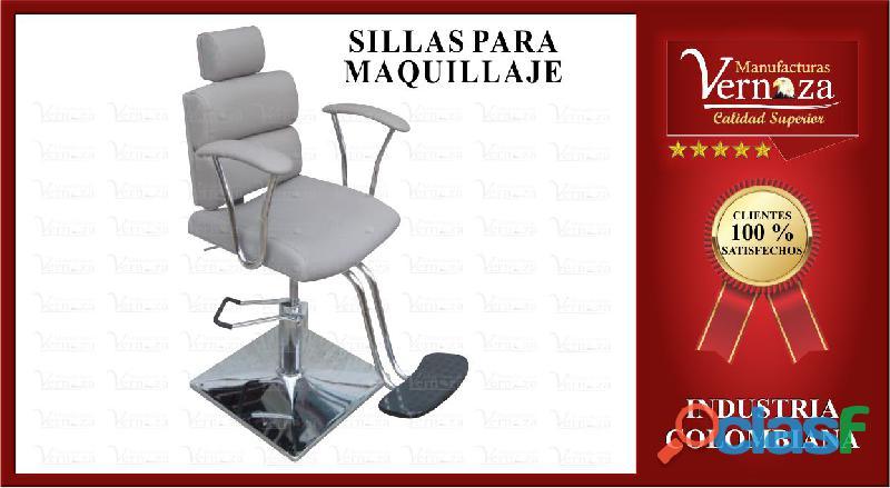 +15 silla para maquillaje en cuerotex