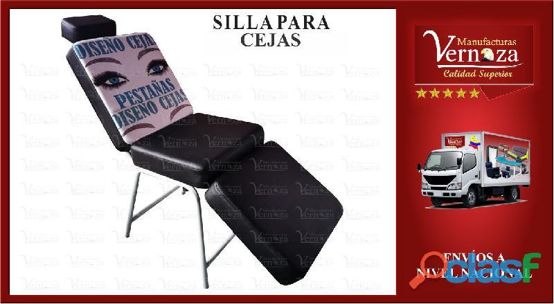 5 silla para maquillar o depilar cejas muy comoda..