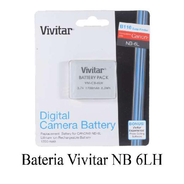 Bateria nb 6l para canon sx530 hs sx510 hsx sx500
