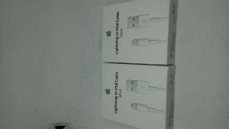 Cable original iphone apple lightning ipad ipod 2 metros