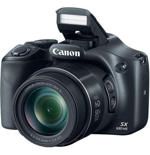 Camara canon powershot sx530 hs 16mp 50x zoom + 16gb