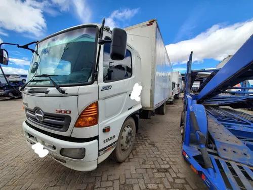 Camion hino gd gh fc sencillo 600 economico furgon estacas
