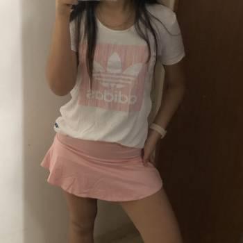 Camiseta blanca marca adidas