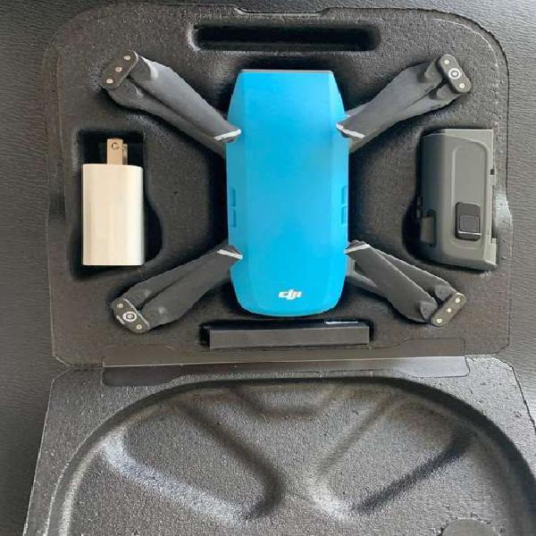 Drone dji spark azul 12mp full hd gps wifi, sensor gestual