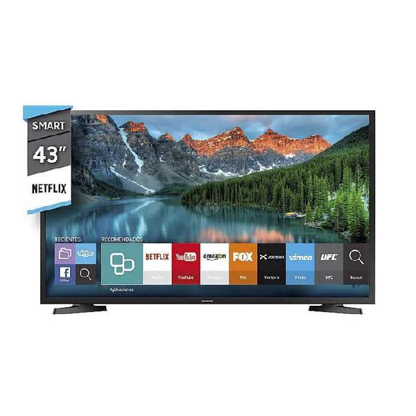 "Televisor 43"" samsung led smart tv un43j5290 fhd 2018"