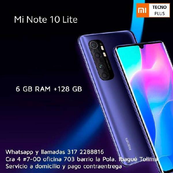 Xiaomi mi note 10 lite - 128gb teléfonos nuevos, con