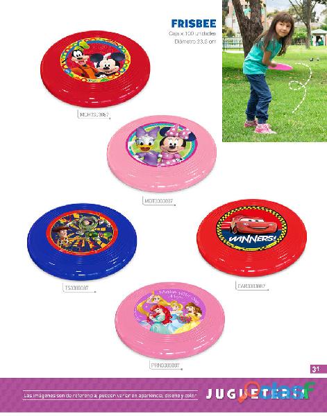 Frisbees plasticos fabricamos