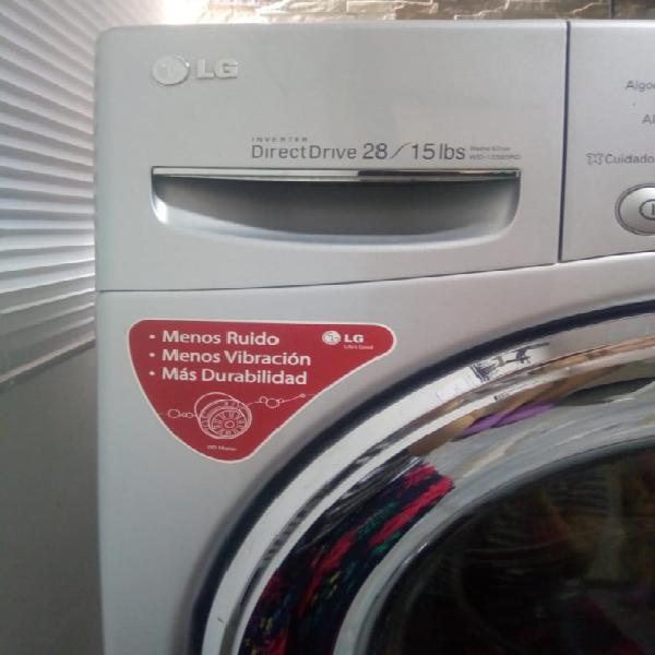 Lavadora/ secadora lg