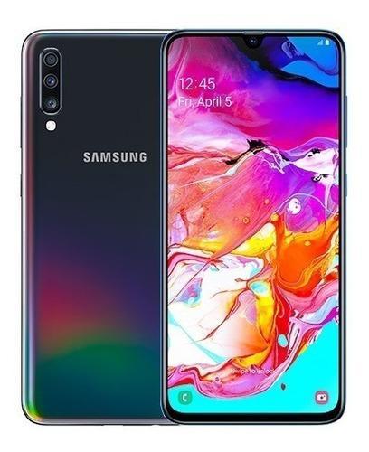 Samsung galaxy a70 4g 128gb cam triple 32/8/5mp huella libre