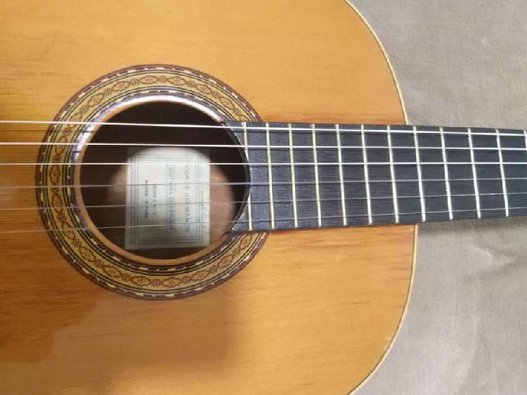 Guitarra clasica española felipe conde/ año 1960