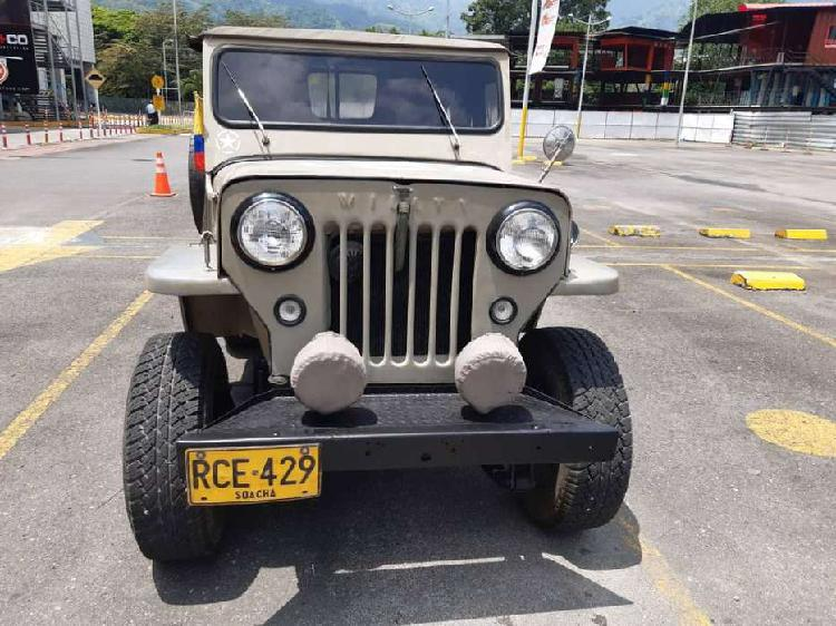 Hermoso jeep willys