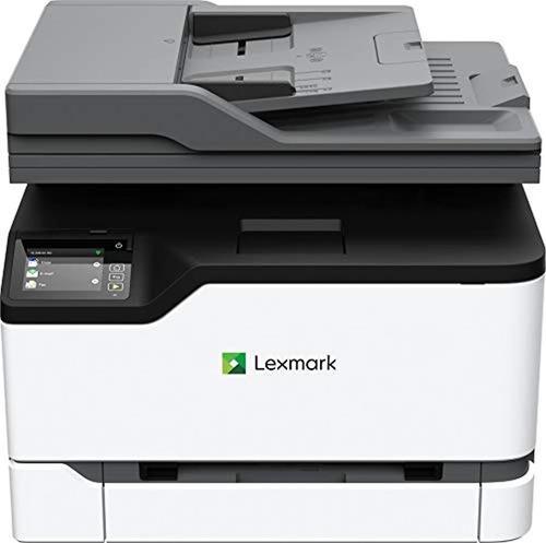 Impresora láser multifunción color con capacidad copia fax