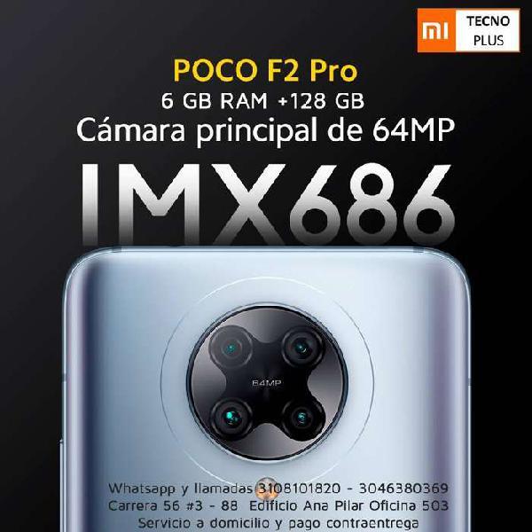 Poco f2 pro - 128 gb - teléfonos nuevos y con garantía de