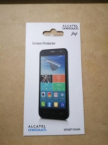 Protector de pantalla alcatel pop c7 (paga 2 lleva 6)