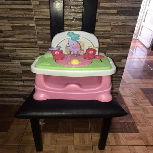 Silla fisher price de comedor para bebé