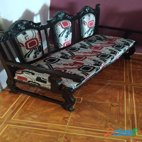 Juego completo de muebles antiguos en cedro perfecto estado