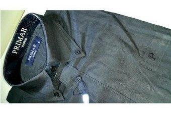 Camisa manga larga hombre a rayas al por mayor y detal