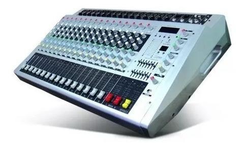 Consola mixer análogo de 16 canales
