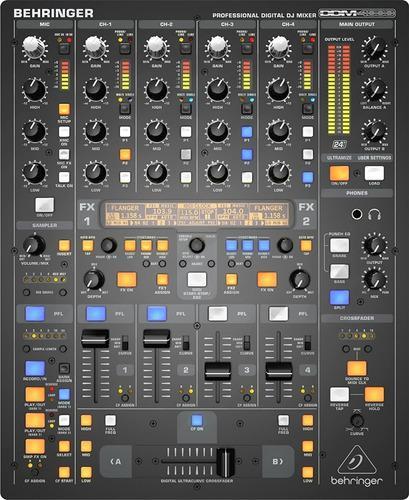 Mezclador digital profesional behringer ddm4000 dj mixer 202