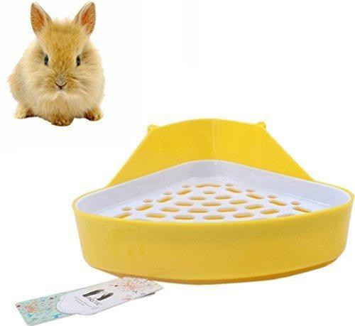 Mkono potty trainer esquina caja de arena para hamster conej