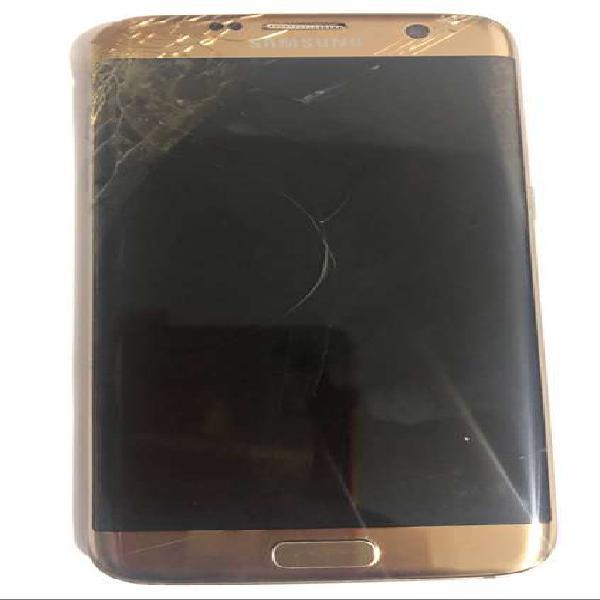Samsung s7 edge pantalla rota, para repuestos, libre
