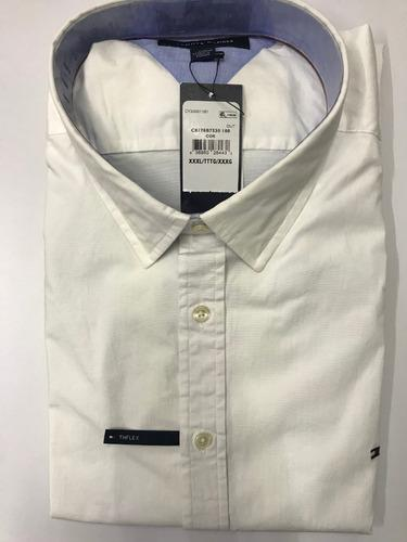 Tommy hilfiger camisa manga larga 100% orig todas tallas