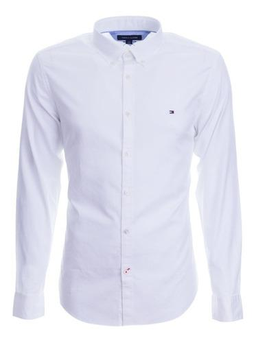 Tommy hilfiger camisa manga larga 100% original xl xxl