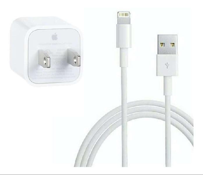Cargador + cable para iphone