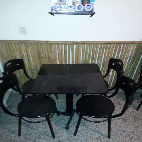 Juegos de mesas con sillas 120mil