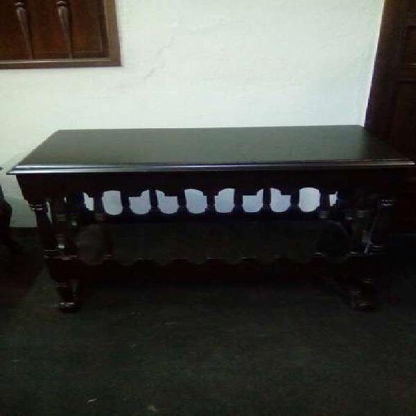 Mesa bar de madera cedro