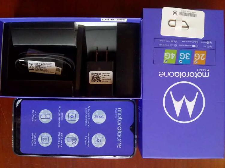 Motorola one macro ¡nuevo!