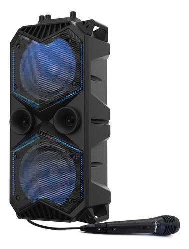 Parlante bluetooth portatil bafle microfono bowmann bts-265k