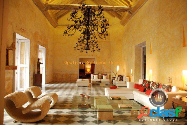 Ventas de casas (hotel boutique) en cartagena ciudad amurrallada a107