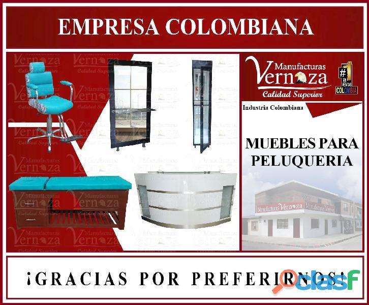 1 profesional fábrica de mobiliaria de peluqueria, barberia y spa.