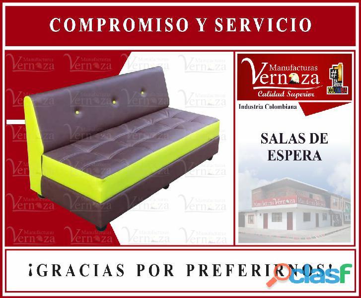 6 sofa estilo salon de espera y recepcion fantastica de peluqueria y barberia.