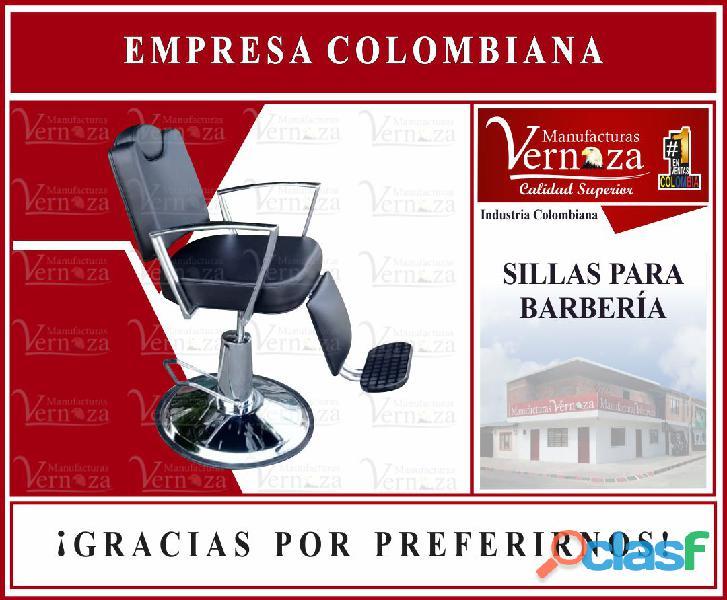 7 silla corte de cabello para adulto de barberia.