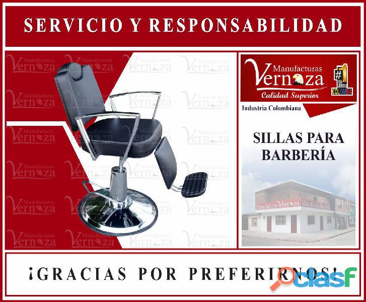 6 silla sofa con estilo para salón de espera y recepción de barbería y peluquería.
