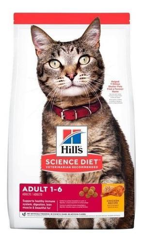 Hills gato adulto optimal care 16lb - kg a $34714