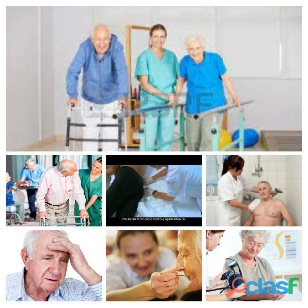 Enfermera domiciliaria cuidadoras internas