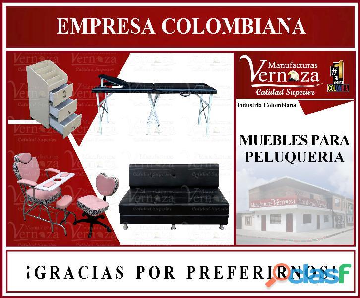 1 FABRICA ESPECIALIZADA EN CONSTRUCCION DE MUEBLES DE MANICURA, PEDICURA, BARBERÍA Y PELUQUERÍA.