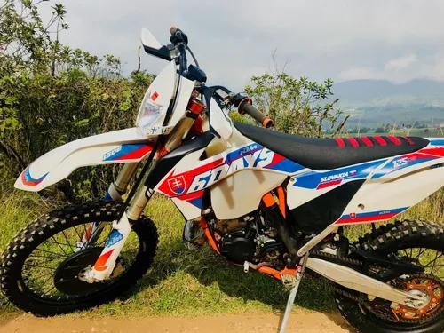 2016 ktm 125 exc six days enduro moto