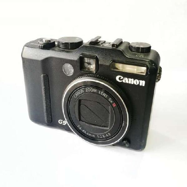 Cámara canon powershot g9 usada 12.1 mpx