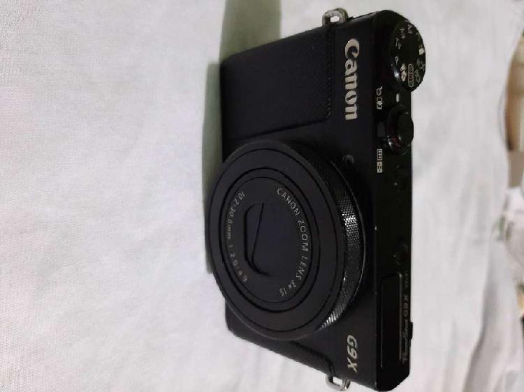 Camara canon powershot g9 x